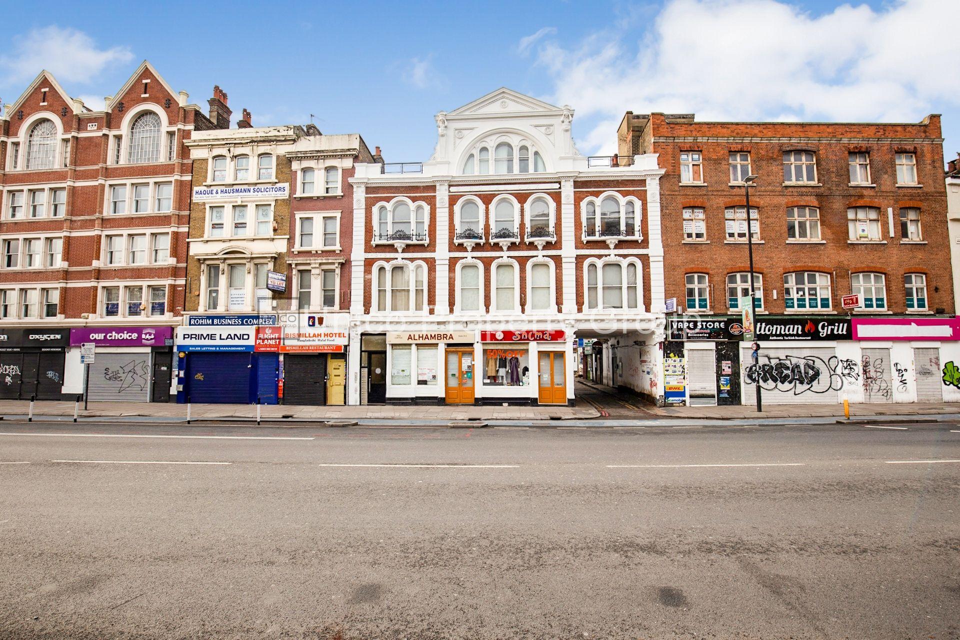 Whitechapel Road, London